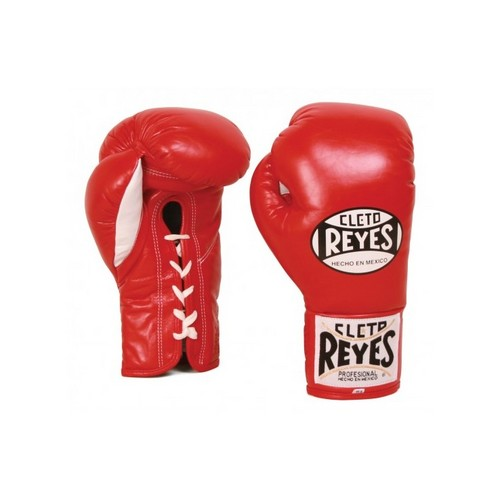 Cleto Reyes Contest Laced Boxing Gloves Red