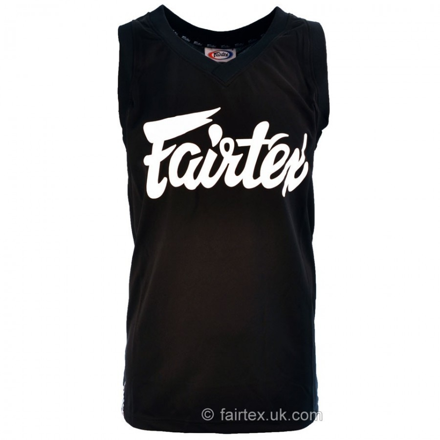 0e5fc3f30 Fairtex Basketball Jersey Black