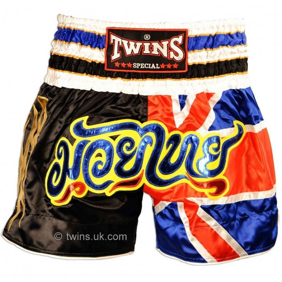 Twins Special UK Flag Muay Thai Boxing Shorts TWS-850