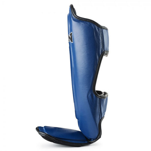 Boon Leather Shin Pads Blue