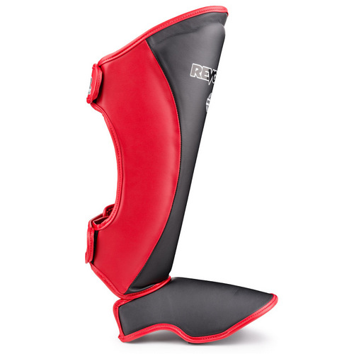 Revgear Original Thai Shin Guards Black & Red