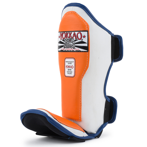 Yokkao Kids Air 2.0 Shin Pads Orange