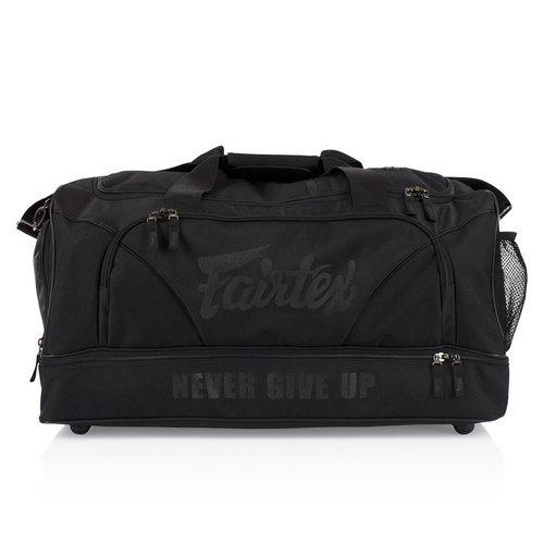 Fairtex Black Heavy Duty Gym Bag
