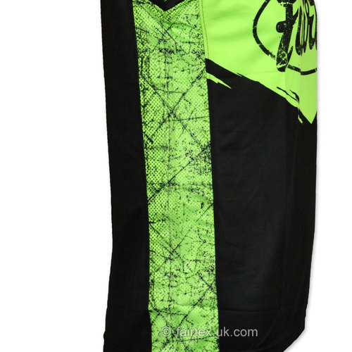 Fairtex Basketball Jersey Black-Green