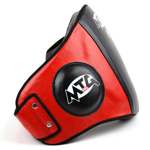 MTG Pro Black & Red Leather Belly Pad