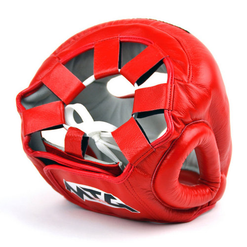 MTG Pro Full Face Head Guard Red