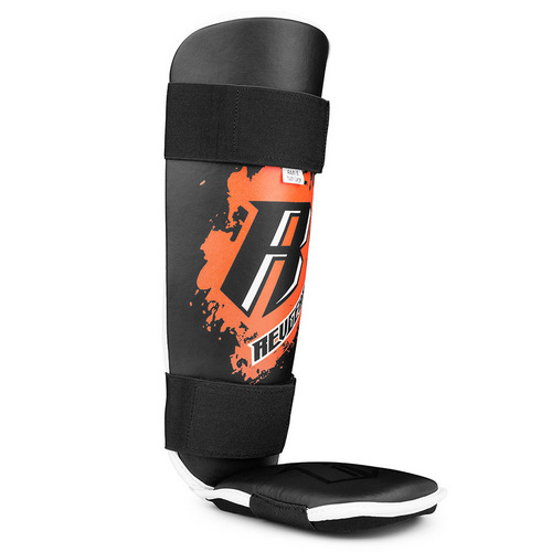 Revgear Kids Muay Thai Shin Pads Black & Orange