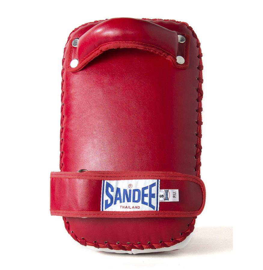Sandee Large Extra Thick Black /& White Flat Thai Kick Boxing Pads Muay Thai