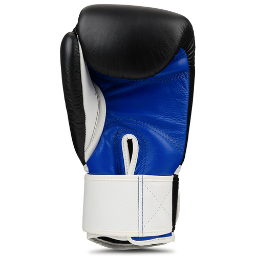 Top King Ultimate Boxing Gloves Blue/Black/White