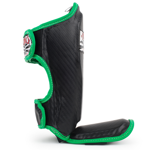 Yokkao Kids Shin Pads Black Carbon