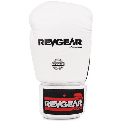 Revgear Boxing Gloves / Black White