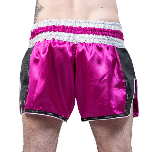 Yokkao Carbon Muay Thai Shorts Pink
