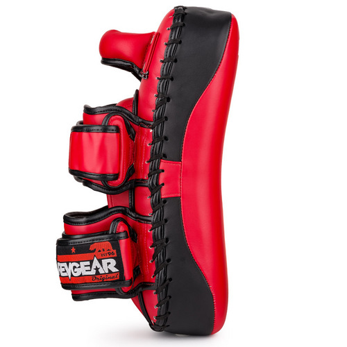 Revgear Curved Thai Kick Pads Red & Black