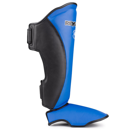 Revgear Original Thai Shin Guards Black & Blue