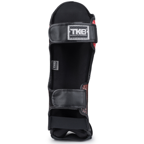 Top King Super Star Shin Pads Red